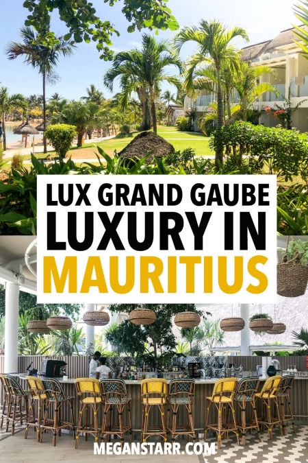 This is a review of LUX Grand Gaube, one of the most luxurious resorts and hotels in Mauritius. The resort has a spa, private beaches, three pools, amazing restaurants, and more! #mauritius #hotelreview #island #africa