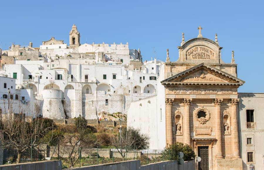 best places to see in Ostuni, Italy
