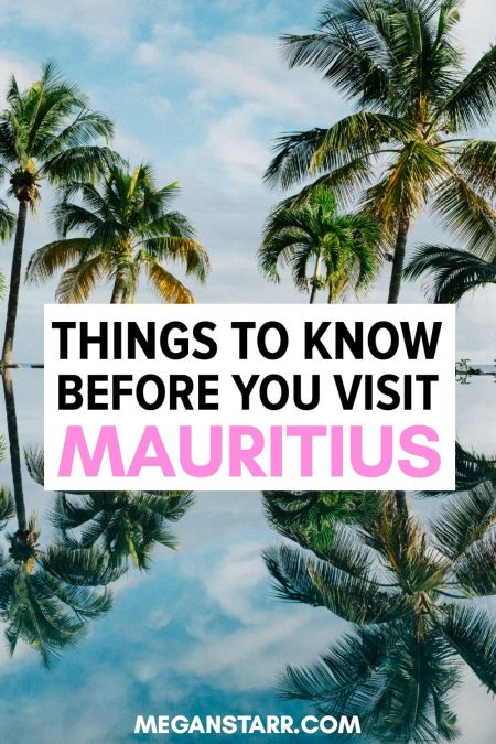 TRAVEL TO MAURITIUS: There are many useful things to know before you visit Mauritius. These awesome travel tips will help you plan your trip to Mauritius and get to see the best of the food, culture, history, and gorgeous places. #mauritius #island #paradise #mauritiustravel