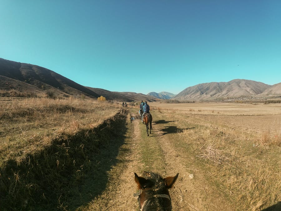What to Know Before Horse Riding in Kyrgyzstan (Tips + My Experience)