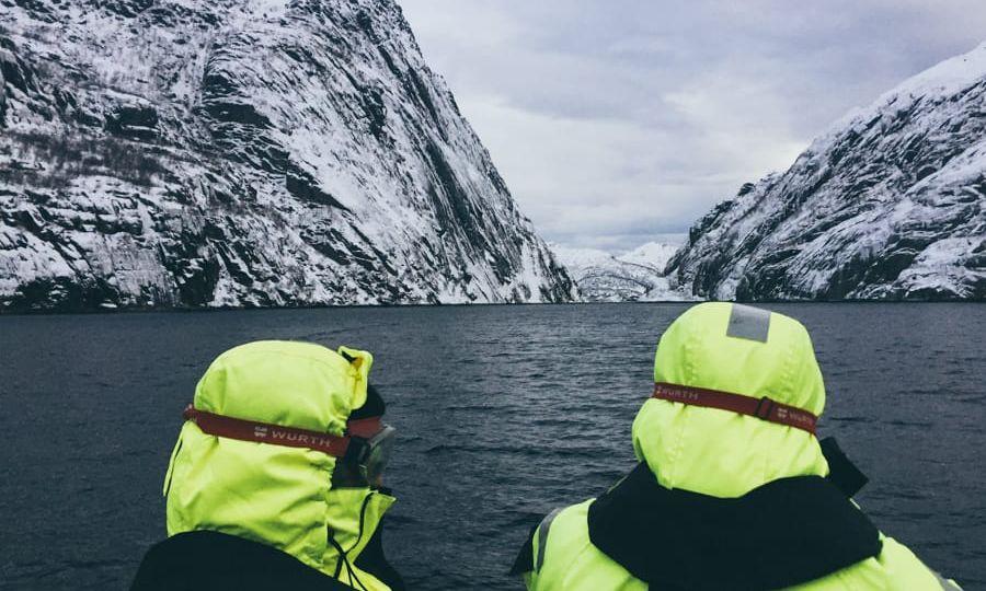 Lofoten Sea Eagle Safari in December in the Lofoten Islands (winter) Norway-11