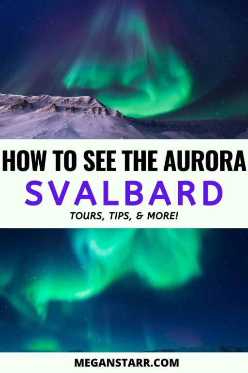 Best Svalbard northern lights tours | Northern lights Svalbard guide #svalbard #spitsbergen #norway #arctic Visit Svalbard | Places to Visit in Norway | Visit Norway | Norway Travel Guide | What to see in Svalbard | Svalbard itinerary | Arctic Norway | Svalbard photography | Travel to Scandinavia | Places to visit in Norway | Svalbard tours | Snowmobiling Norway | Scandinavia aurora | Travel to Norway | Arctic tours | Svalbard aurora