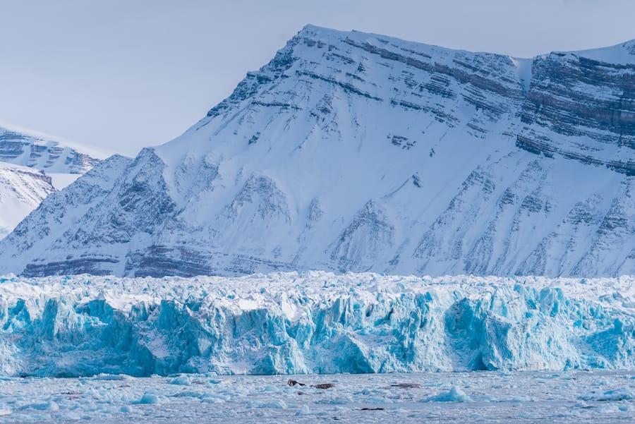 Travel to svalbard and longyearbyen tips: glacier