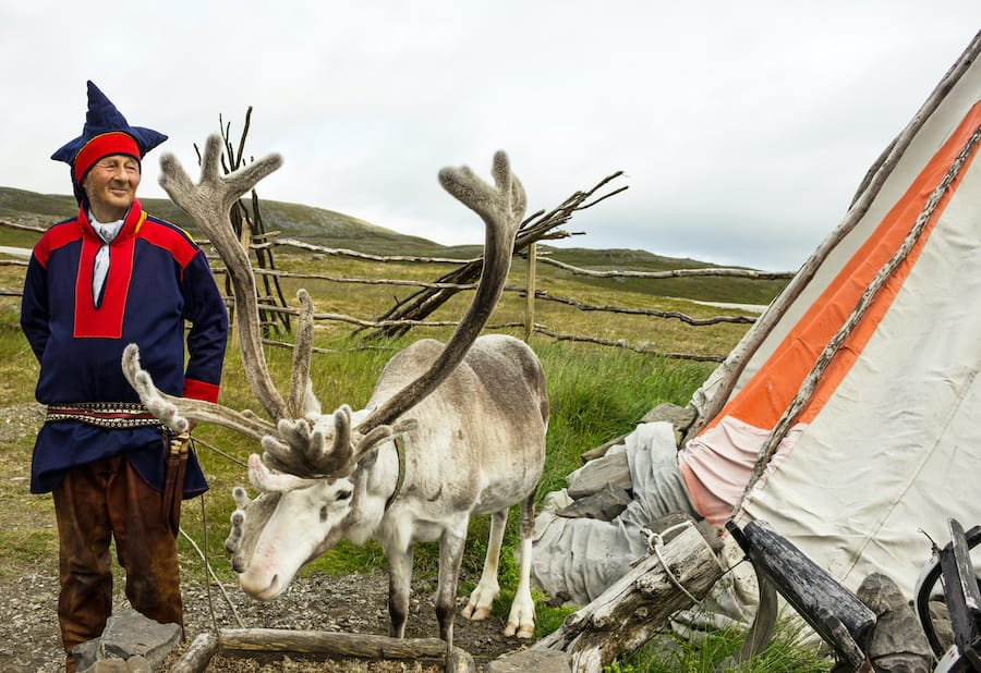 Sami culture is an important part of traveling to Tromsø