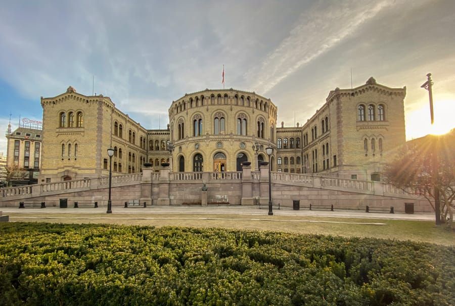 Using the Oslo Pass will get you into many places or can simply take you around to visit beautiful places- such as Stortinget.