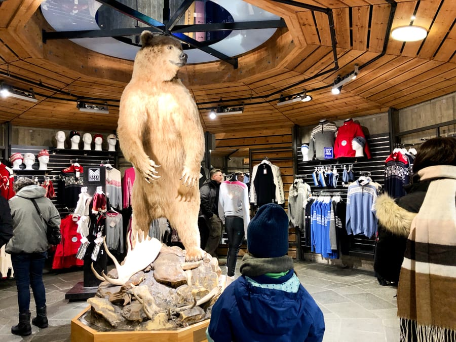 Oslo Discovery Tour review, tips, faq, and more! Inside the Holmenkollen souvenir and gift shop