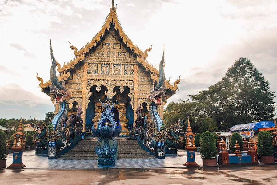 The Blue Temple in Chiang Rai, Thailand | Beautiful places to visit in Thailand