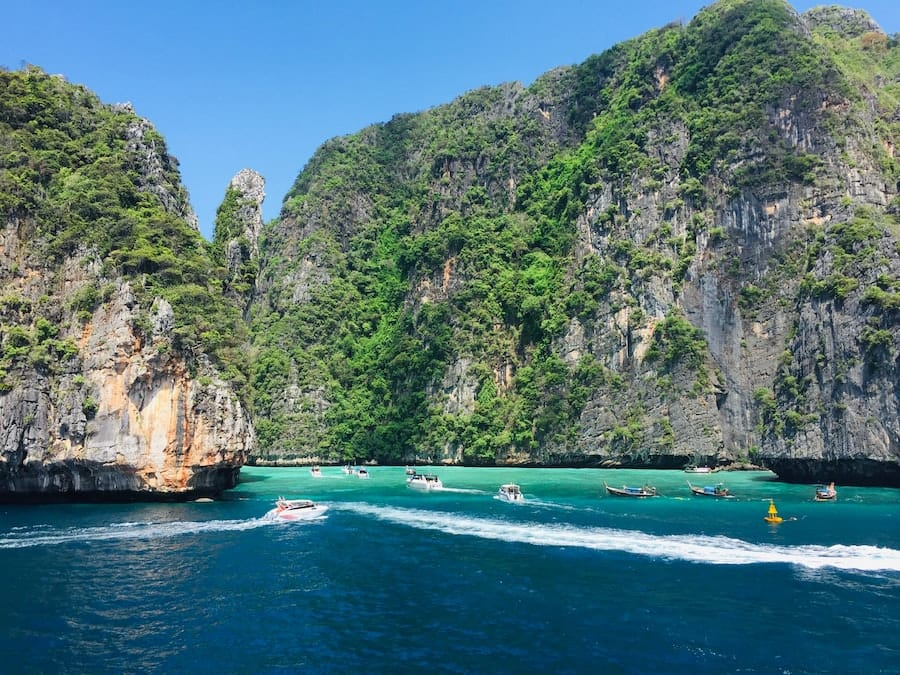 Phi Phi Islands | Beautiful places to visit in Thailand