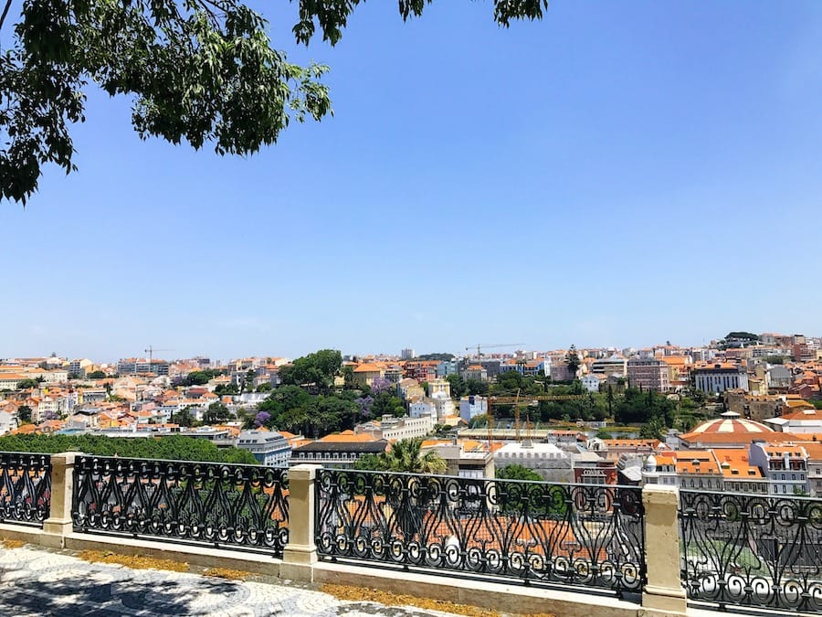 Miradouro de Sao Pedro de Alcantara - Lisbon Viewpoint 10 Amazing & Delicious Reasons to Visit Lisbon, Portugal