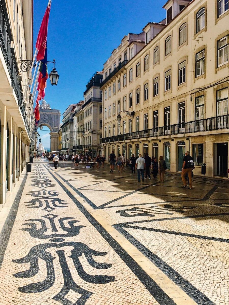 Rua Augusta Street - Reasons to visit Lisbon