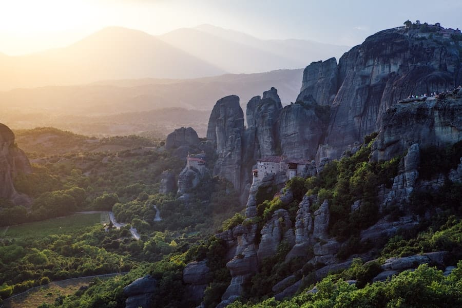 best places to visit in greece - meteora