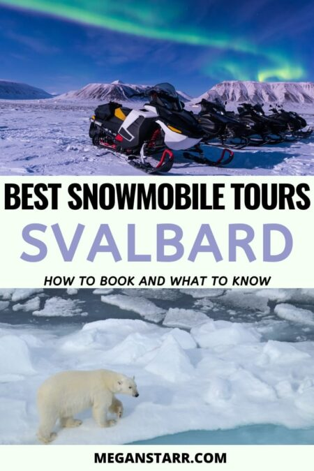 Best Svalbard snowmobile tours | Snowmobile Svalbard guide #svalbard #spitsbergen #norway #arctic Visit Svalbard | Places to Visit in Norway | Visit Norway | Norway Travel Guide | What to see in Svalbard | Svalbard itinerary | Arctic Norway | Svalbard photography | Travel to Scandinavia | Places to visit in Norway | Svalbard tours | Snowmobiling Norway | Scandinavia snowmobile | Travel to Norway | Arctic tours