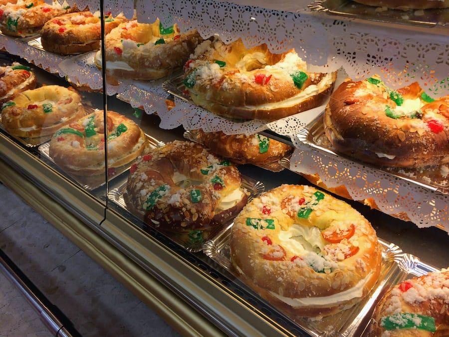 Madrid Christmas food