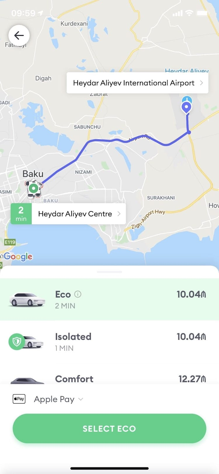 Baku Taxi Tips: Taking a Taxi in Baku with 2 Useful Apps