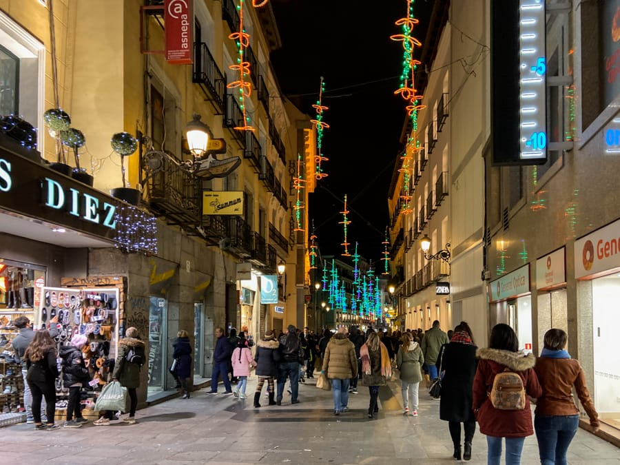 Madrid winter guide- what to do