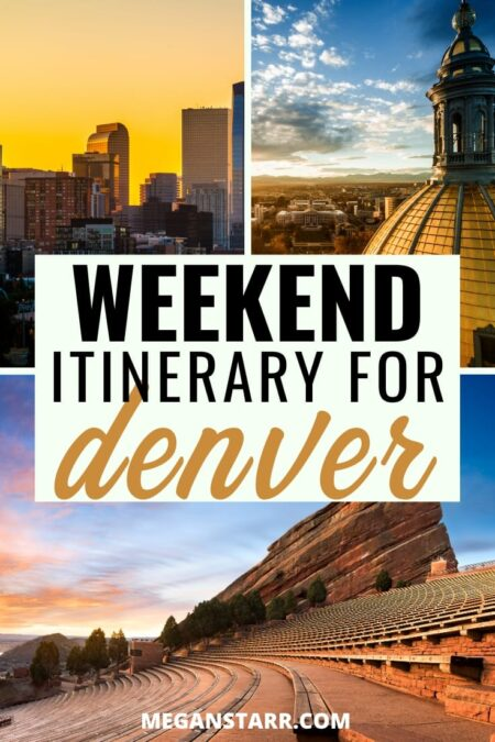 Weekend in Denver itinerary for first time travelers | Denver Colorado USA #travel #denver #colorado #america | Colorado Trips | Visit Denver | Places to Visit in Colorado | Visit Colorado | Denver Travel Guide | What to see in Denver | Denver itinerary | Colorado photography | Travel to Denver | Rocky Mountains | USA Travel | Things to do in Colorado | Denver photography