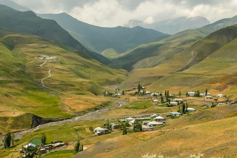 Places to visit in Azerbaijan : Khinalug by Kami and the rest of the world