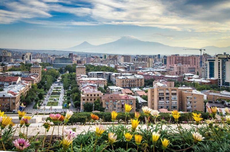 Places to visit in the Caucasus: Yerevan Armenia