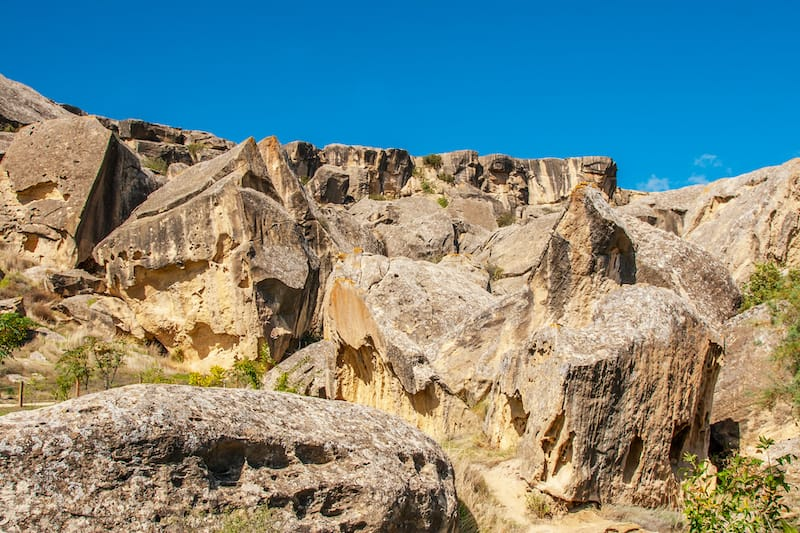 Gobustan National Park in Azerbaijan (Places to visit in the Caucasus)