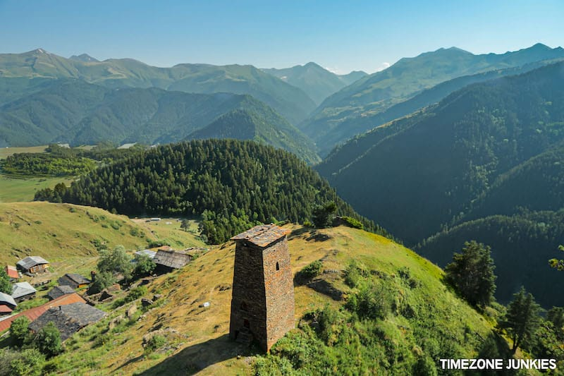 Tusheti (Omalo) Recommended by Alex and Malin at Timezone Junkies (places in the country of Georgia)
