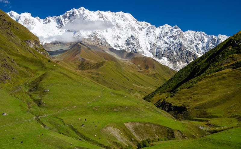 Places to visit in the Caucasus: Ushguli, Georgia by Adriana at Czech the World