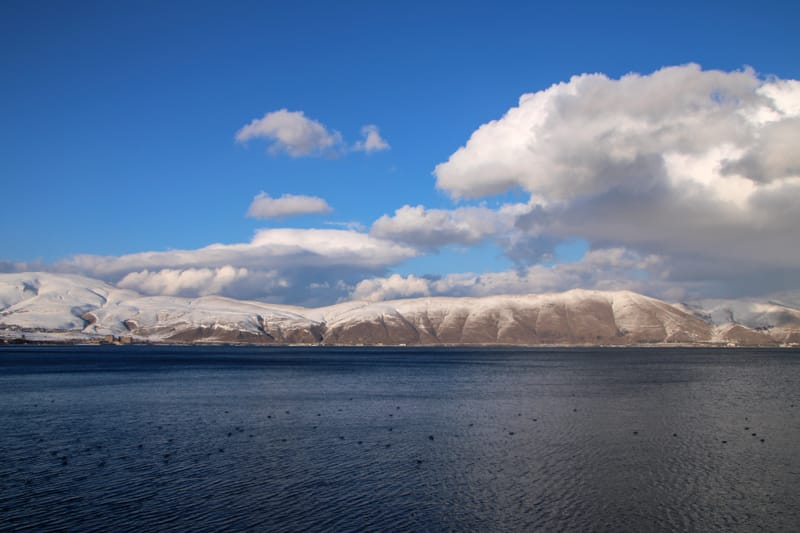 Places to visit in the Caucasus countries: Lake Sevan in Armenia