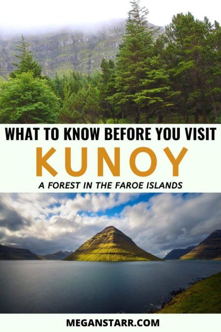 Why you should visit Kunoy, Faroe Islands | Faroe Islands forest | Kunoy Island | Faroe Islands photography | Places to visit in the Faroe Islands | where to stay in faroe islands | Visit Faroe Islands | Faroe Islands travel guide | Faroe Islands villages | Scandinavia and the Nordics | Off the path travel Faroe Islands | Things to do in the Faroe Islands