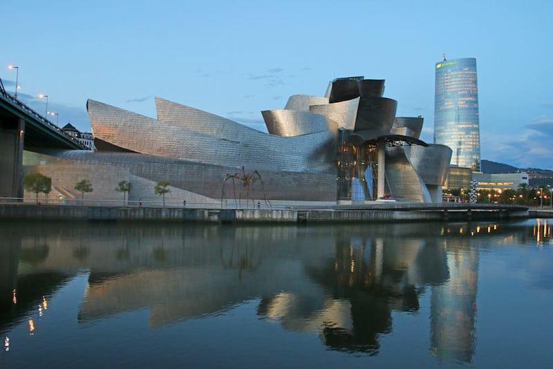 Northern spain itinerary: Bilbao Guggenheim Museum