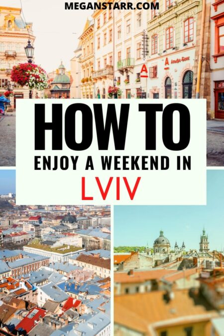 How to spend two days in Lviv, Ukraine | Lviv itinerary (Lviv weekend) #travel #Lviv #ukraine #easterneurope | Ukraine Trip | Visit Lviv | Ukraine Travel | Places in Ukraine | Places to visit in Ukraine | What to see in Ukraine | Travel to Lviv | Lviv tours | Lviv Photography | Things to do in Lviv | What to do in Lviv | Places in Lviv | Visit Ukraine | Lviv things to do | Lviv restaurants | Lviv day trips