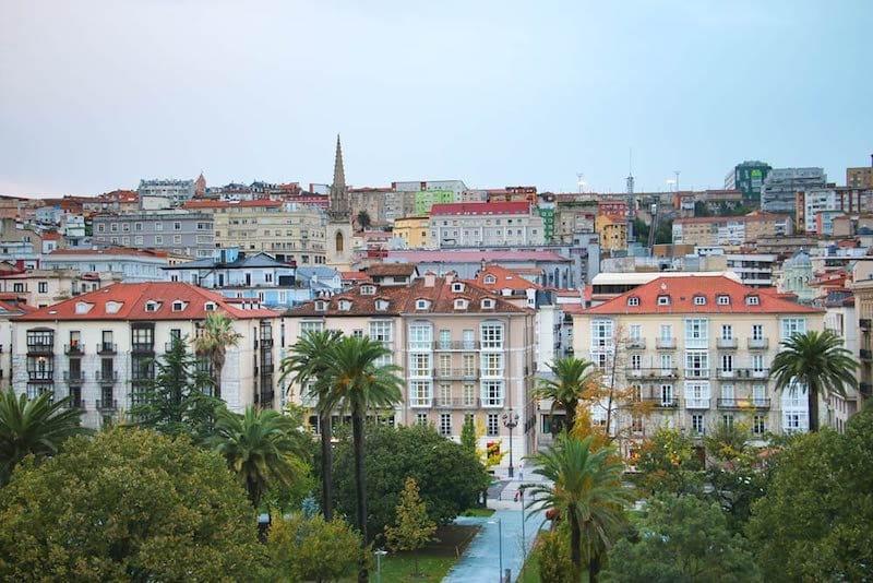 Spain road trip itinerary: Santander city center