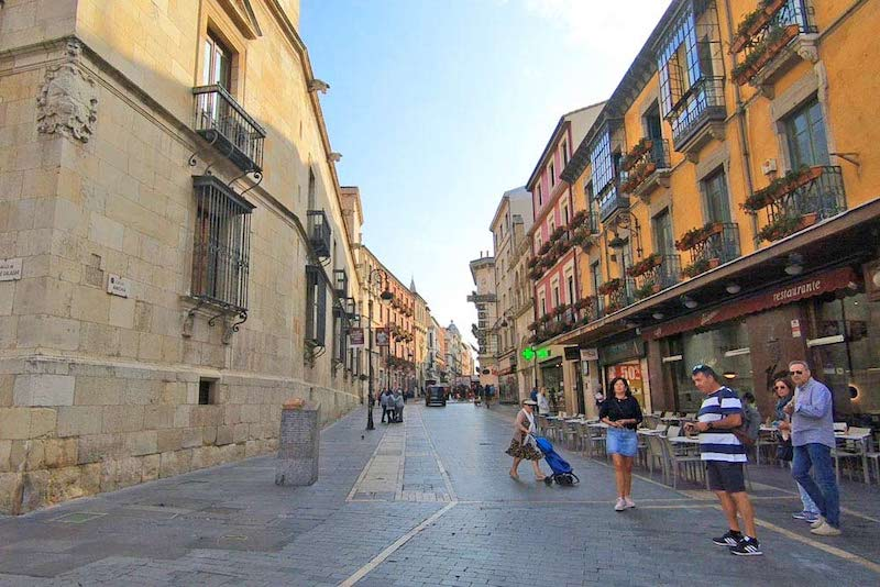 Itinerary for northern spain: leon