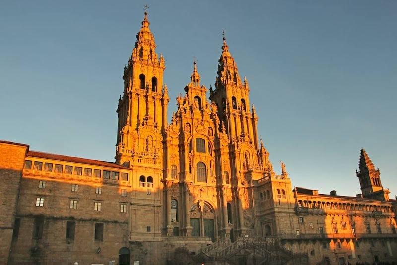 North Spain itinerary: Santiago de Compostela cathedral