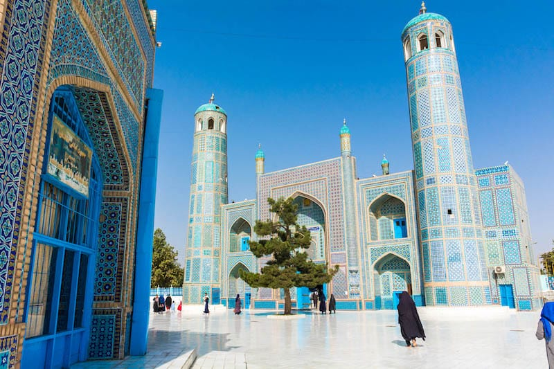 Best cities in Central Asia: Mazar-i-Sharif in Afghanistan