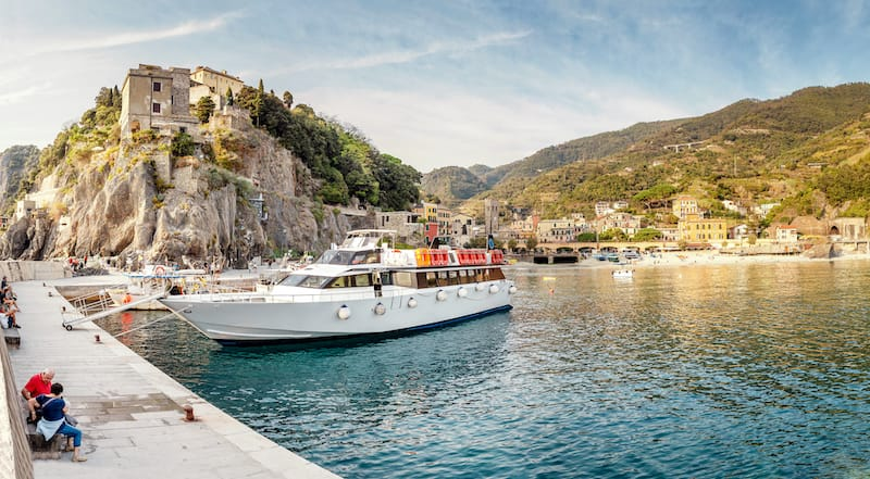 Things to know before you go to Cinque Terre: Taking the boat to Cinque Terre