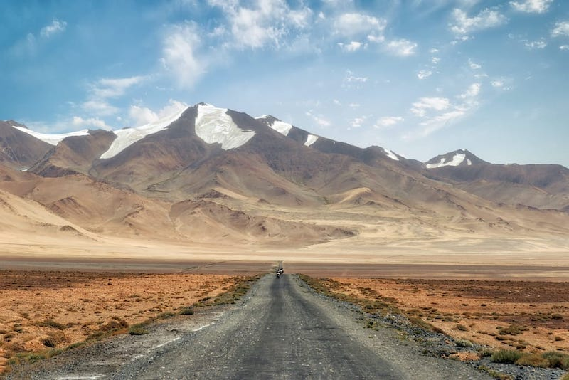 Best places to visit in Central Asia: Pamir Highway Tajikistan