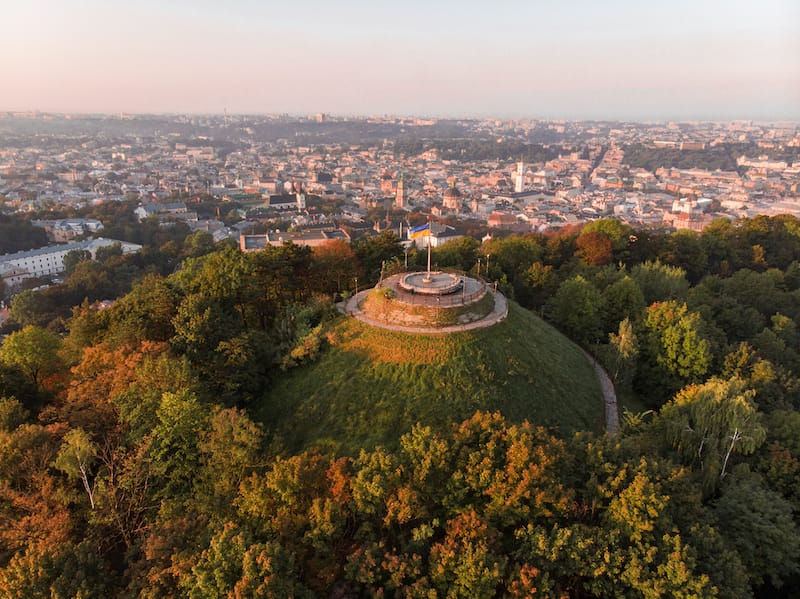 High Castle in Lviv Ukraine
