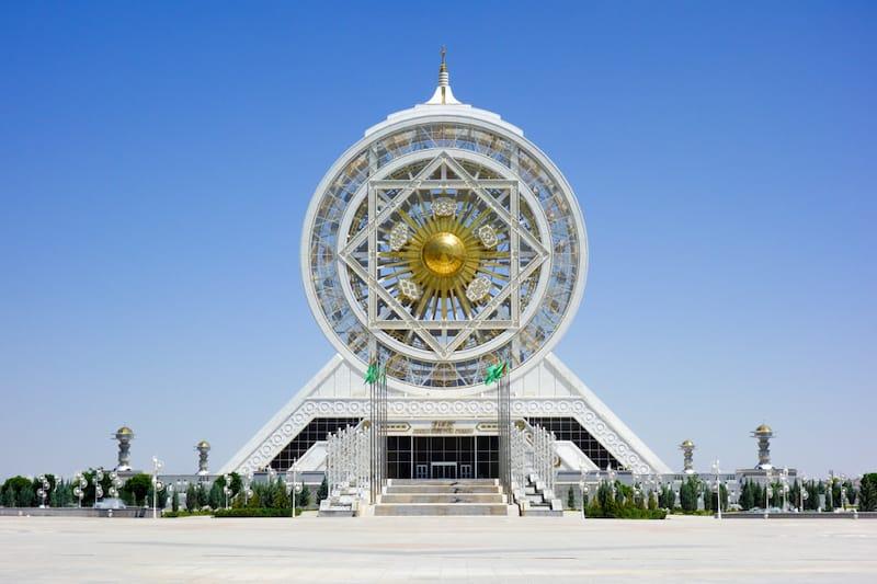 Best places to visit Central Asia: Ashgabat, Turkmenistan