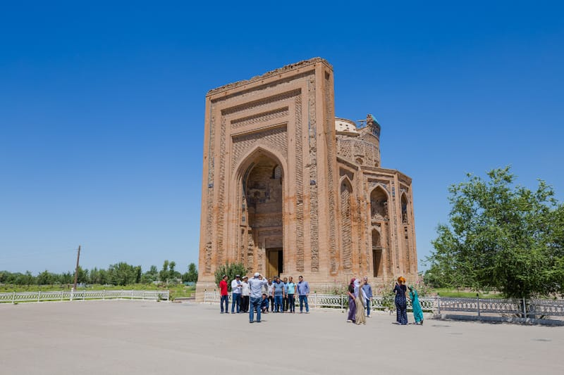 Best Central Asia sights and places: Kunya Urgench, Turkmenistan