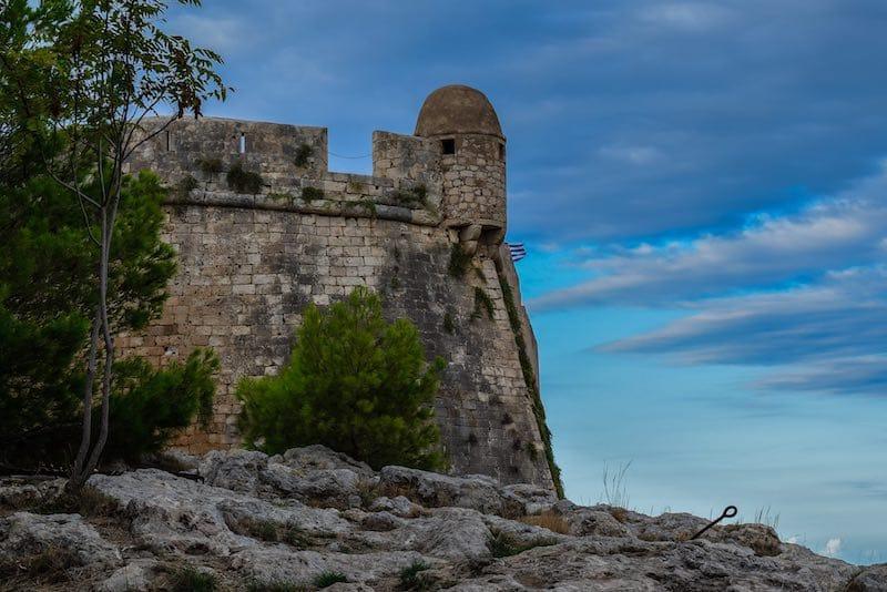 Fortezza in Rethymnon Crete: What to do in Crete