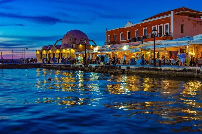 Chania Port in Crete (Itinerary for Crete in 7 days)