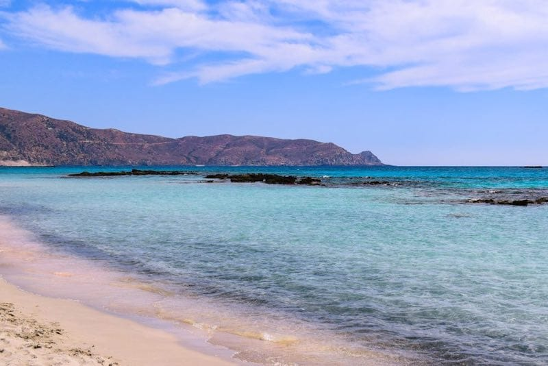 Elafonisi Beach in Crete - best things to do in Crete