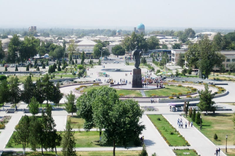 Best places to visit in Central Asia: Shahrisabz, Uzbekistan
