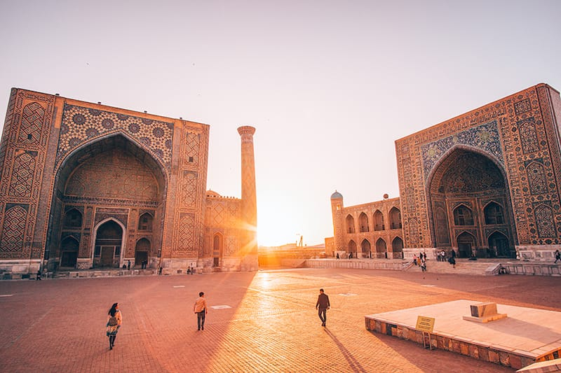 Best Places to visit in Central Asia: Samarkand, Uzbekistan