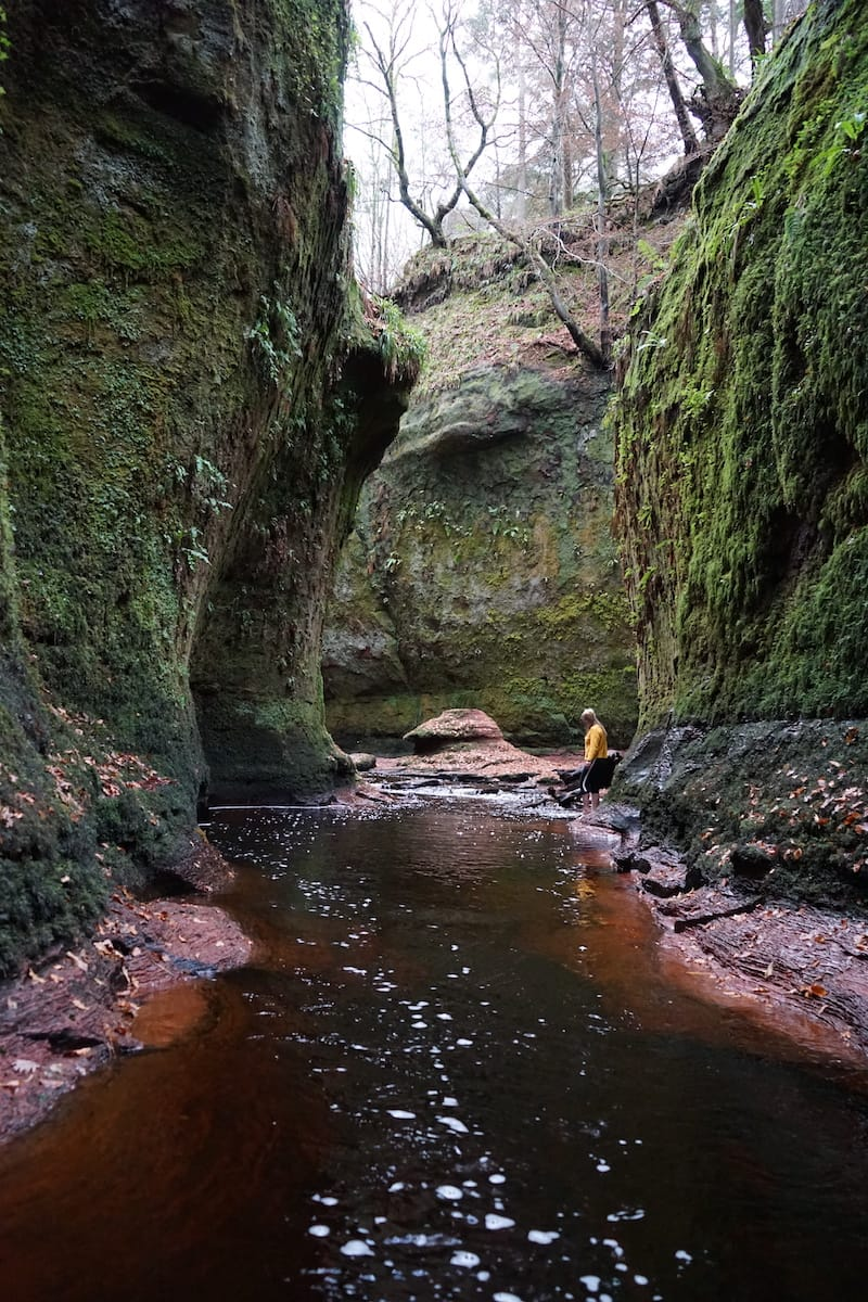 Devil's Pulpit River: Glasgow day trips