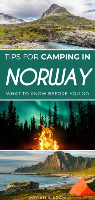 Camping in Norway: Useful Tips for the Perfect Adventure | Norway camping guide #norway #camping #scandinavia #nordics | Things to do in Norway | Norway adventure | Norway caravan | Norway tenting | Camping Norway | Scandinavia camping | Norway nature | Norway photography | What to do in Norway | Wild camping | Wild camping Norway