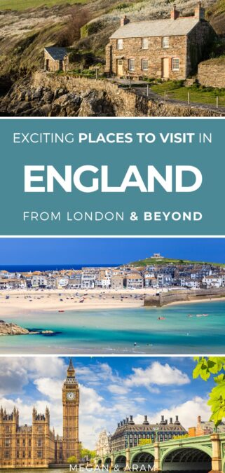 30 Amazing (and Diverse!) Weekend Breaks in England : This guide details amazing places to visit in England for a weekend getaway   England city breaks   England parks   Things to do in England   What to do in England   Places in England   England hiking   England photography   England nature   England cities   English countryside #uk #england #london