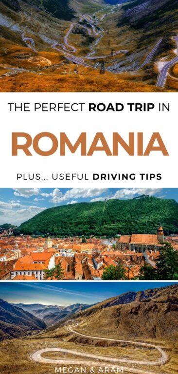 Driving in Romania: How to Have the Perfect Romania Road Trip | Road trip in Romania #romania #roadtrip #easterneurope | Places to visit in Romania | Renting a car in Romania | Romania driving | Transfagarasan Highway | Eastern Europe road trip | Danube Delta | Bucharest | Things to do in Romania | What to do in Romania | Visit Romania | Romania travel