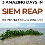 3 Days in Siem Reap itinerary for first-time visitors | itinerary for Siem Reap Cambodia | Angkor Was | Cambodia travel | Siem Reap travel | Visit Siem Reap | Things to do in Siem Reap | Siem Reap what to do | Visit Cambodia | Visit Angkor Was | Pub Street #cambodia #siemreap #southeastasia #angkorwat