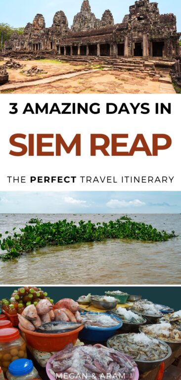 3 Days in Siem Reap itinerary for first-time visitors   itinerary for Siem Reap Cambodia   Angkor Was   Cambodia travel   Siem Reap travel   Visit Siem Reap   Things to do in Siem Reap   Siem Reap what to do   Visit Cambodia   Visit Angkor Was   Pub Street #cambodia #siemreap #southeastasia #angkorwat
