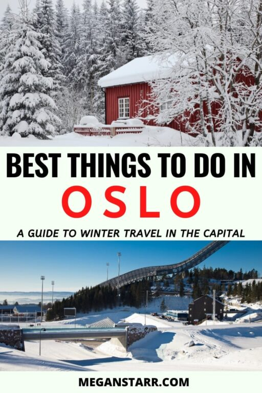 Things to do in Oslo in Winter | Oslo Winter Guide #travel #Norway #europe #Oslo #Scandinavia #Norwaywinter #winter | Oslo Trip | Visit Oslo | Oslo Travel | Places in Norway | Travel to Oslo | Things to do in Oslo | Norway winter | Winter in Norway | Skiing in Norway | Norway snow | Norway photography | Norway itinerary | Places to visit in Scandinavia | Oslo skiing | Winter in Oslo | Oslo winter | Oslo snow